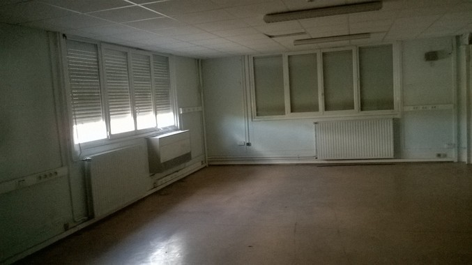 Vue des bureaux R+1