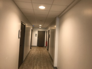 Accès par couloir
