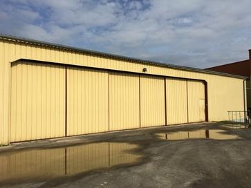 Superficie hangar