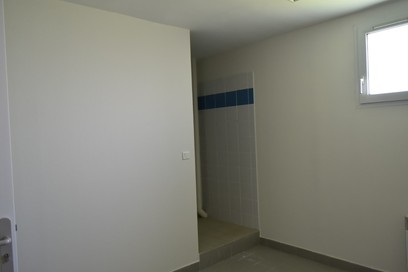 salle avec douche